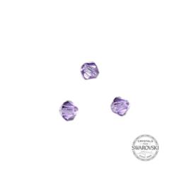 Violet Swarovski bicone bead 4 mm
