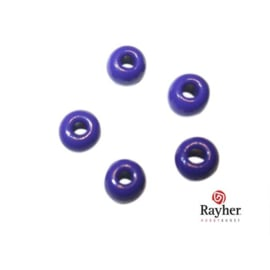 Dark blue Indian bead 4,5 mm, Rocailles from Rayher