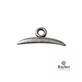 Zilverkleurig metalen Ornament/slotje
