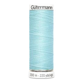 Nr 028 Lichtblauw Gutermann alles naaigaren 200 m