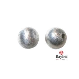 Ronde zilveren kraal, 10 mm