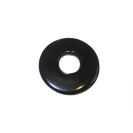 Zwarte polyester ring