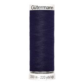 Nr 339 Donkerblauw Gutermann alles naaigaren 200 m