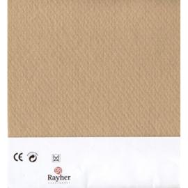 Beige textielvilt soft 30 x 45 cm van Rayher