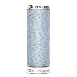 Nr 075 Lichtblauw  Gutermann alles naaigaren 200 m