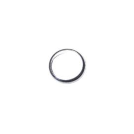 Ringmodel rond gemaakt van metaal