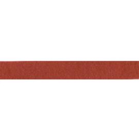 Felt ribbon 25 mm, Red