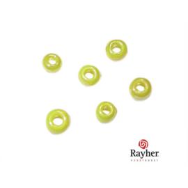 Gele rocaille Opaak Lustré 2,6 mm van Rayher
