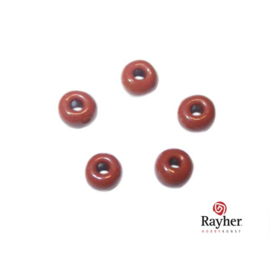 Brown Indian bead 4,5 mm, Rocaille from Rayher