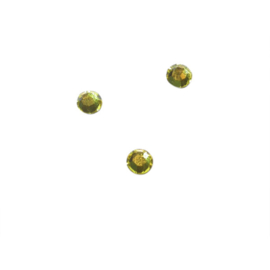 Rhinestone Citrine (yellow) 4 mm