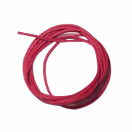 Rood gewaxt katoen 0,5 mm