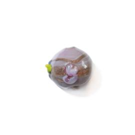 Italian Style paarse glaskraal