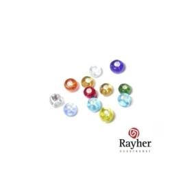 Assorti rocailles met zilverkern 2,6mm  van Rayher