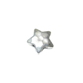 Star form bead with metalcoating