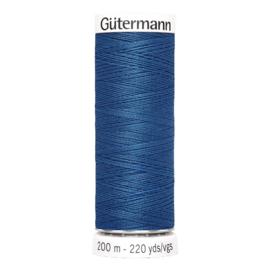 Nr 214 Blauw Gutermann alles naaigaren 200 m