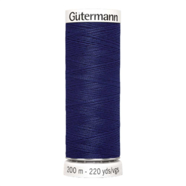 Nr 309 Donkerblauw Gutermann alles naaigaren 200 m