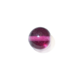 Roze, ronde glaskraal