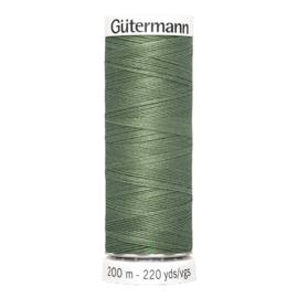 Nr 296 Groen Gutermann alles naaigaren 200 m