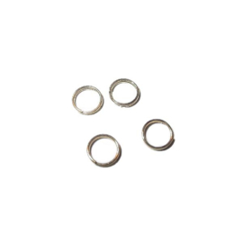 Goudkleurige Dubbele ring 7 mm