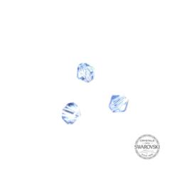 Aquamarine Swarovski bicone bead 4 mm