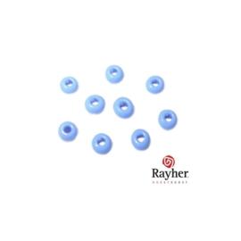 Blauwe rocaille Opaak van Rayher