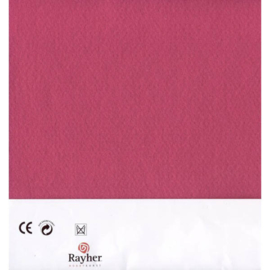 Fuchsia textielvilt soft 30 x 45 cm van Rayher