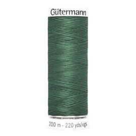 Nr 340 Groen Gutermann alles naaigaren 200 m
