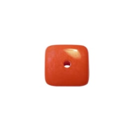 Oranje polyester vierkant