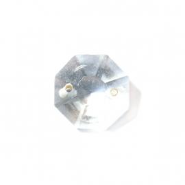 Doorzichtige glas kettelkraal