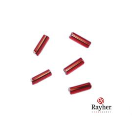 Rode glasstift 7/2 mm met zilverkern