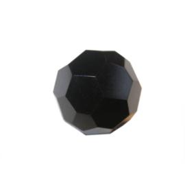 Zwarte polyester facetbol