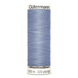 Nr 074 Lichtblauw  Gutermann alles naaigaren 200 m