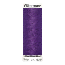 Nr 373 Paars Gutermann alles naaigaren 200 m