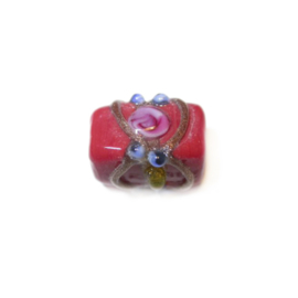 Italian Style red glassbead