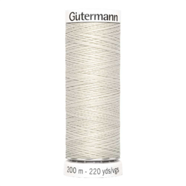 Nr 299 Beige Gutermann alles naaigaren 200 m