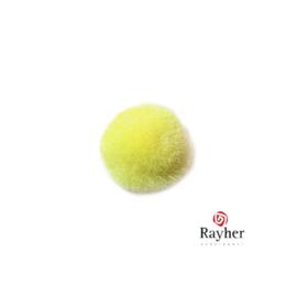 Gele pompon 20 mm van Rayher