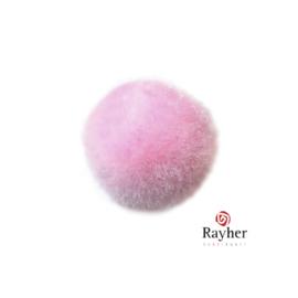 Roze pompon 25 mm van Rayher