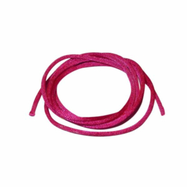 Satin Cord Fuchsia 2 mm