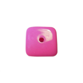 Roze polyester vierkant