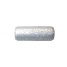 Zilvergrijze staaf van keramiek