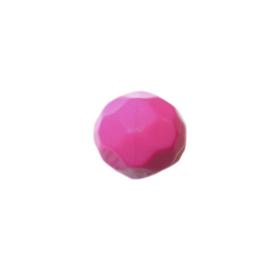 Roze polyester facetkraal