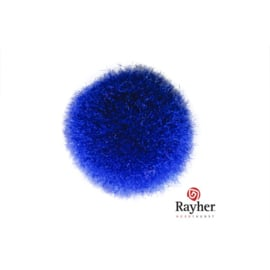 Blauwe pompon 25 mm van Rayher