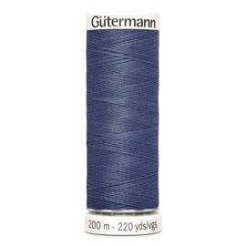 Nr 068 Blauw  Gutermann alles naaigaren 200 m