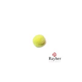 Gele pompon 10 mm van Rayher