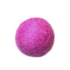 Viltbol roze