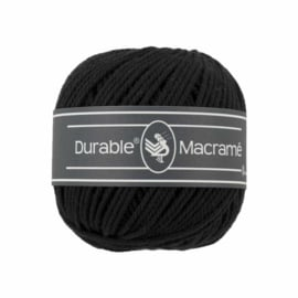 Macrame 325 Black - Durable