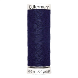Nr 310 Donkerblauw Gutermann alles naaigaren 200 m