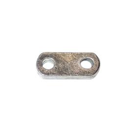Metalen tussenstuk (divider) met 2 draaduitgangen