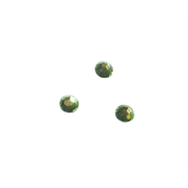 Rhinestone Peridot 4 mm