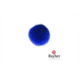 Blauwe pompon 15 mm van Rayher